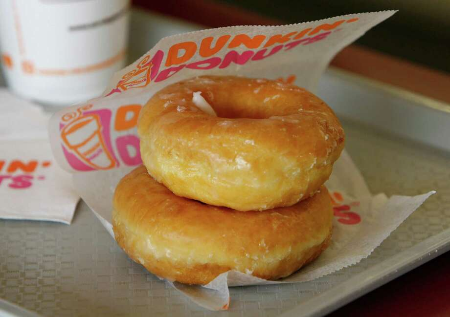 Dunkin' Donuts Glazed Donut, 260 calories each. Photo: Melissa Phillip, Houston Chronicle / Houston Chronicle