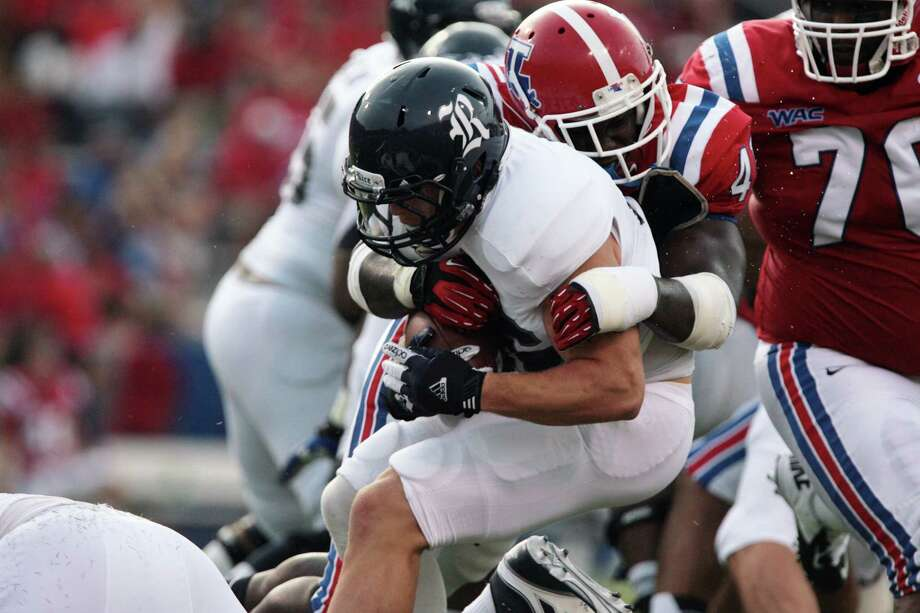 Rice fell behind early to Louisiana Tech and never recovered Saturday. Photo: Ben Corda/The News-Star / Local Staff;Local