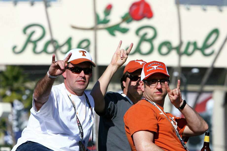 A sign that it's not your granddaddy's Granddaddy of Them All is that Texas has finished its season playing in Pasadena three times in the past eight campaigns. Photo: TOM REEL / San Antonio Express-News