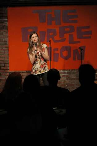 Coleen Watson performs at the Purple Onion Comedy Club in San Francisco, Calif., on Thursday, September The Purple Onion comedy club is closing at the end of Sept. Just short of its 50th anniversary. The club launched Phillis Diller and is also where the Kingston Trio got its start and the Smothers Brothers recorded their first album. Photo: Carlos Avila Gonzalez, The Chronicle