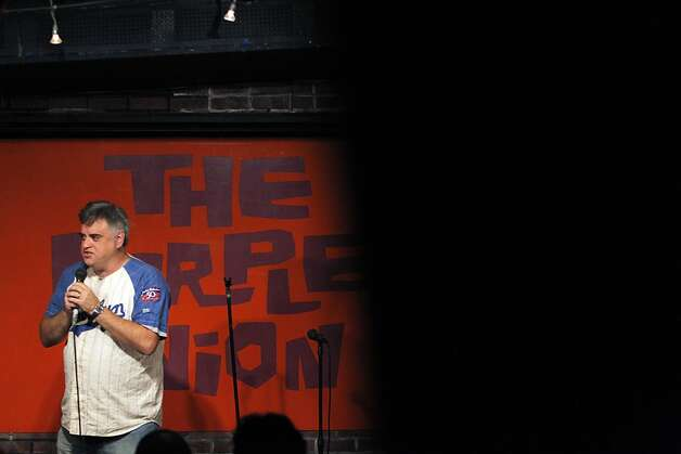 Comedian Randy Hauser performs on stage at the Purple Onion Comedy Club in San Francisco, Calif., on Thursday, September The Purple Onion comedy club is closing at the end of Sept. Just short of its 50th anniversary. The club launched Phillis Diller and is also where the Kingston Trio got its start and the Smothers Brothers recorded their first album. Photo: Carlos Avila Gonzalez, The Chronicle