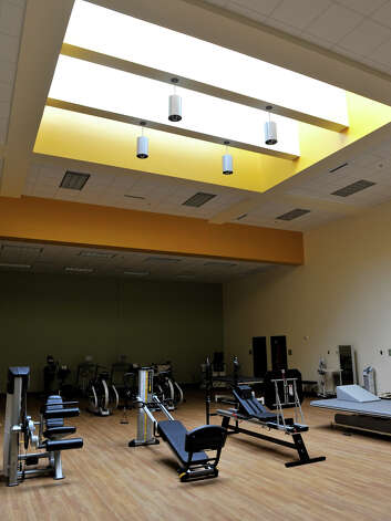 A rehabilitation room at the newly opened University of the Incarnate Word School of Physical Therapy. The facility is located at 9160 Guilbeau Rd. Photo: For The Express-News