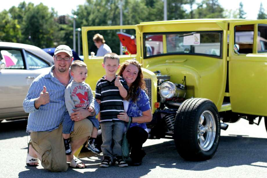 Were you Seen at the second annual Times Union Car Show on the grounds of the Times Union in Colonie on Sunday, Sept. 16, 2012? Photo: Michael Roselli