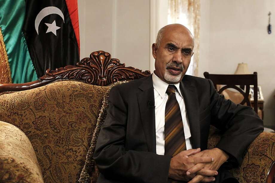 Libyan President Mohammed el-Megarif says the assault on the U.S. Consulate was premeditated. Photo: Mohammad Hannon, Associated Press