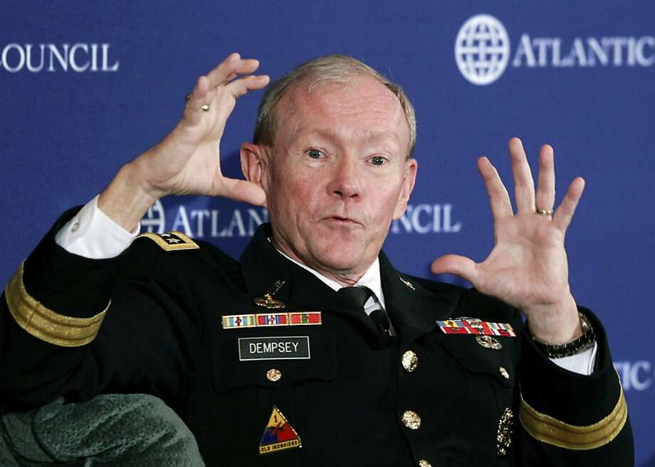 Gen. Martin Dempsey says Kabul must do more. Photo: Charles Dharapak, Associated Press