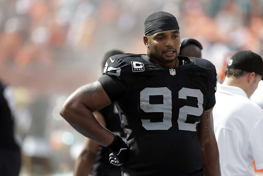 Richard Seymour had said Reggie Bush was dangerous, but the Raiders made it easy.