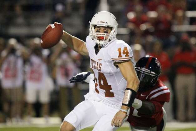1. Texas (last week 1, next week idle) — David Ash evidently can throw the deep ball a little. (Rogelio V. Solis / Associated Press)