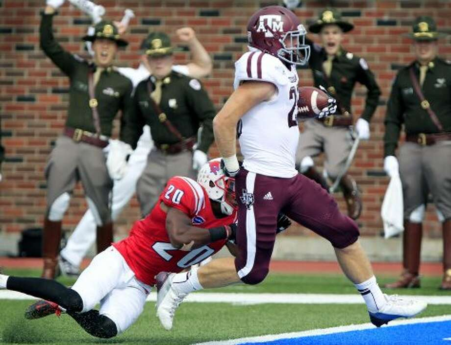 3. Texas A&M (last week 5, next week vs. South Carolina State) — That loss to Florida looks a lot better after Gators' strong effort slaying Rocky Top.(John F. Rhodes / Associated Press)