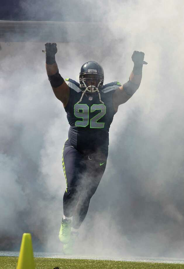 Seattle Seahawks' Brandon Mebane comes out of the tunnel before the first half of an NFL football game against the Dallas Cowboys, Sunday, Sept. 16, 2012, in Seattle. Photo: AP