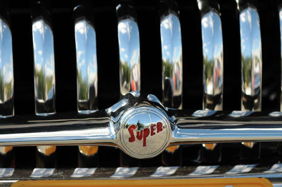 John Baniak brought this 1948 Buick to the second annual Times Union Car Show, a fundraiser for the Times Union Hope Fund, put on by the paper and by In Motion and Rolis Muscle Cars,LLC, on Sunday Sept. 16, 2012 in Colonie, NY.   (Philip Kamrass / Times Union) Photo: Philip Kamrass / 00019237A