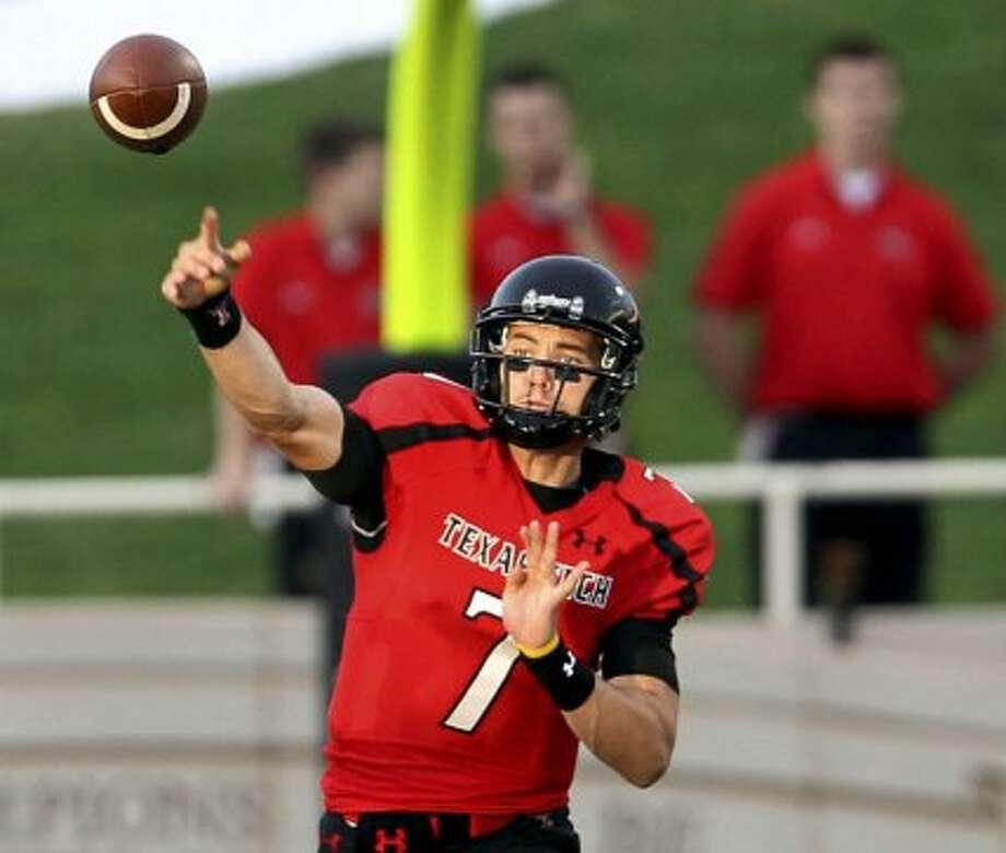 Seth Doege, Texas Tech, 27-35-0, 340 yards, 6 TDs. Stephen Spillman/AP/Avalanche-Journal