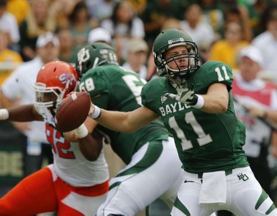 Nick Florence, Baylor, 24-41-2, 312 yards, 3 TDs. (Jose Yau / Associated Press)