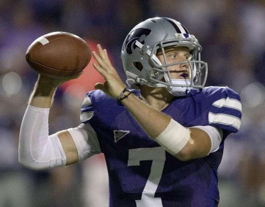 Collin Klein, Kansas State, 15-20-1, 230 yards, 2 TDs. (Orlin Wagner / Associated Press)