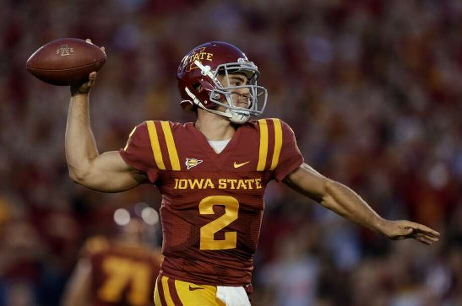 Steele Jantz, Iowa State, 19-26-1, 209 yards, 3 TDs. (Charlie Neibergall / Associated Press)