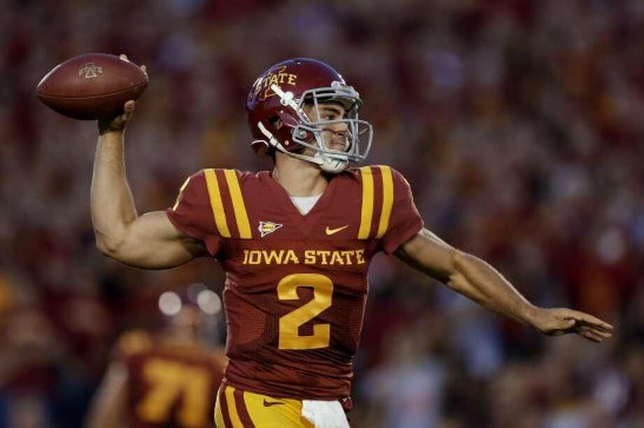 Steele Jantz, Iowa State, 19-26-1, 209 yards, 3 TDs.(Charlie Neibergall / Associated Press)