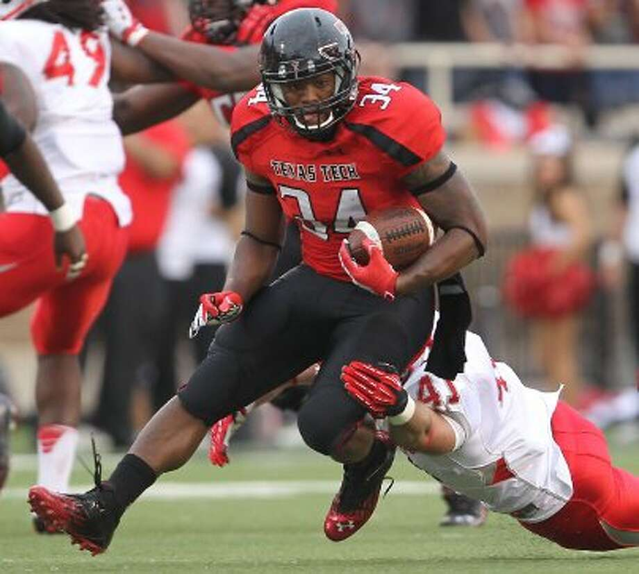Kenny Williams, Texas Tech, 14 carries, 105 yards, 0 TDs.  (Stephen Spillman / Associated Press)