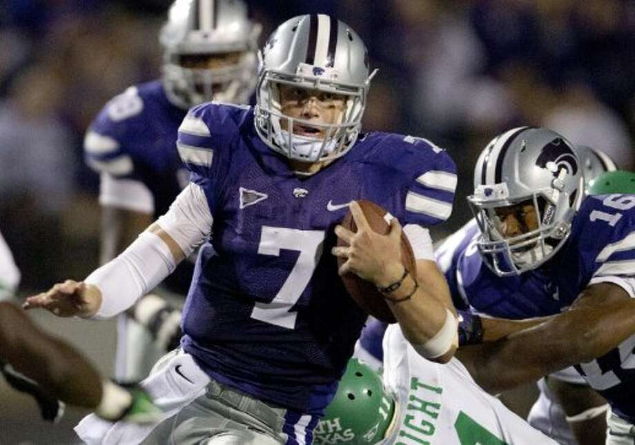 Collin Klein, Kansas State, 11 carries, 85 yards, 1 TD.  (Orlin Wagner / Associated Press)