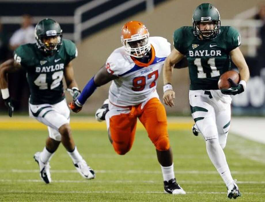 Nick Florence, Baylor, 9 carries, 80 yards, 0 TDs.  (Jose Yau / Associated Press)