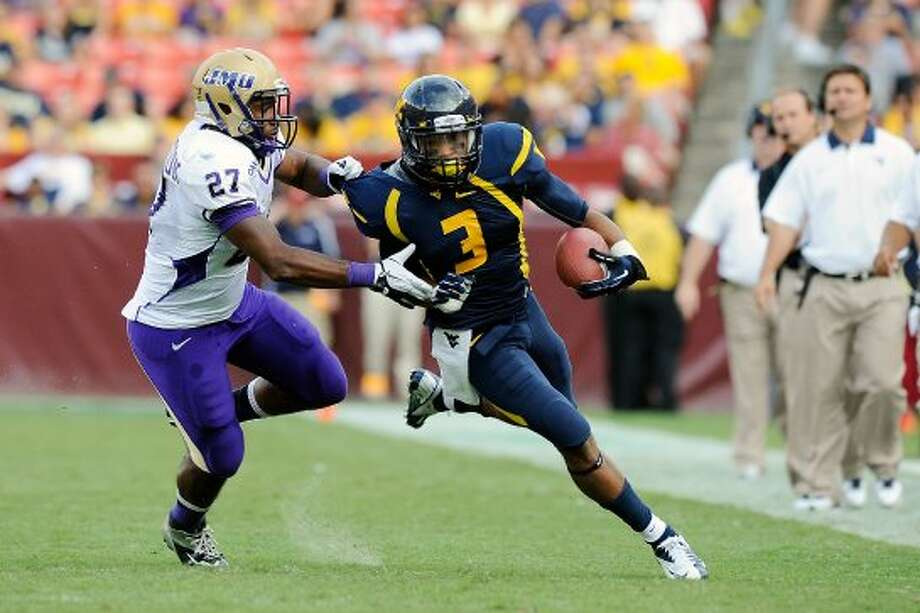 Stedman Bailey, West Virginia, 13 catches, 173 yards, 3 TDs. (Patrick McDermott / Getty Images)