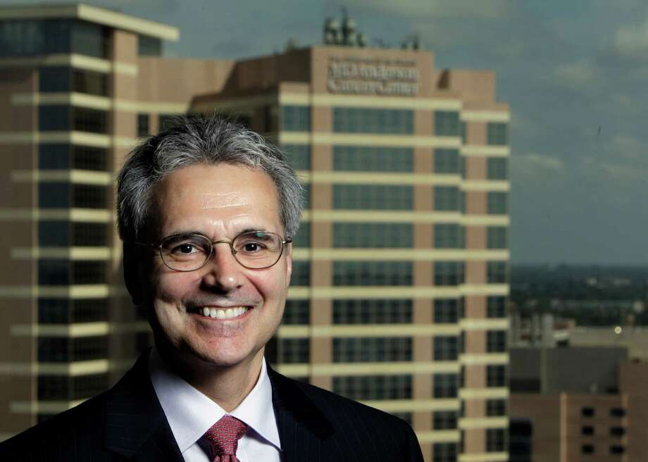 Dr. Ronald DePinho has asked to exempt numerous drug companies in which he  has financial ties from an institutional conflict of interest policy Photo: Melissa Phillip / © 2011 Houston Chronicle