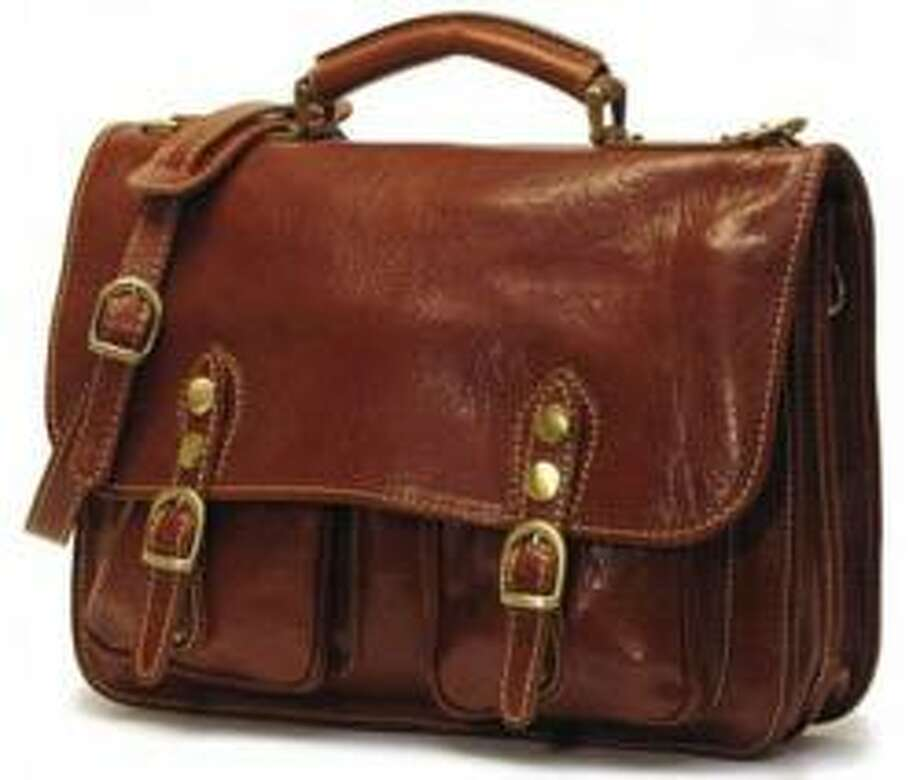 Keep him looking stylish with a fashionable leather work bag.