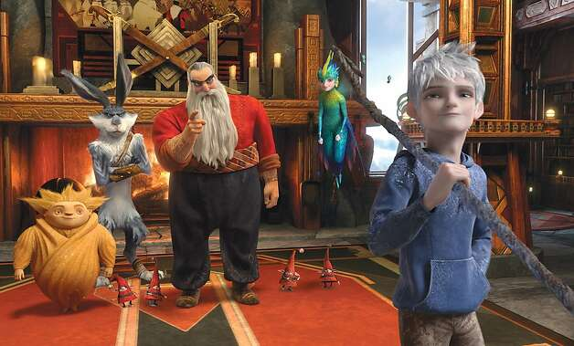 """Rise of the Guardians,"" an adventure with Santa Claus, the Easter Bunny and other mythical beings battling an evil spirit, opens Nov. 21. Photo: DreamWorks Animation, Associated Press"