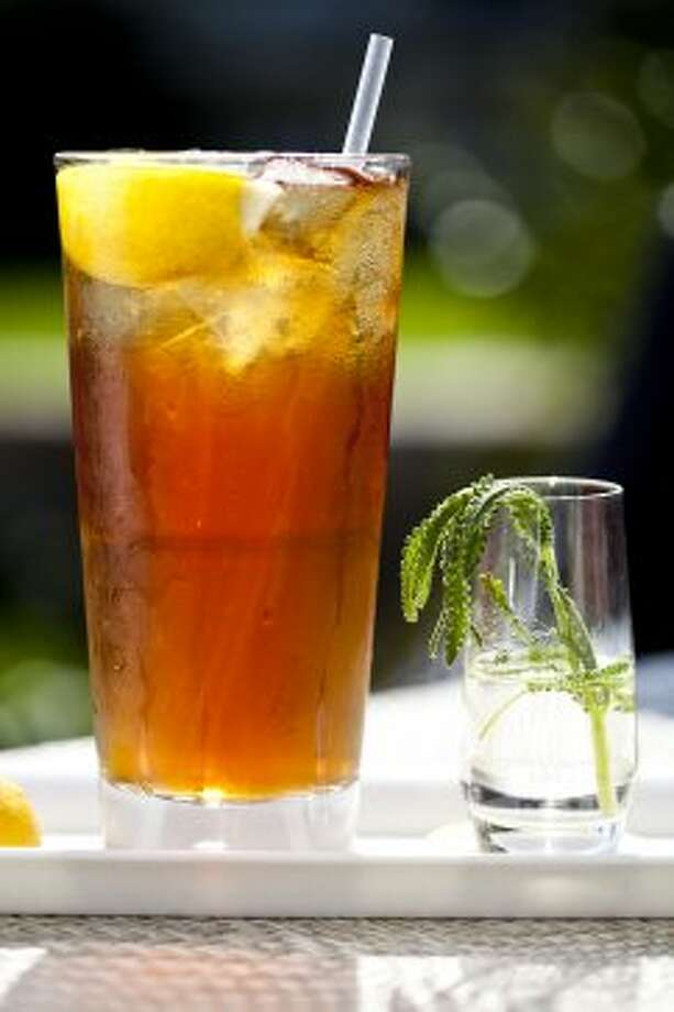 Drown the heat in iced tea. A reader suggested it, and we can't agree more. It hits the spot on a summer day.
