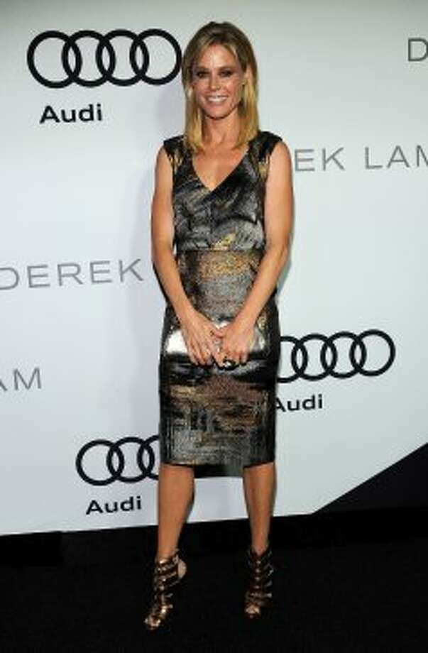 Actress Julie Bowen arrives at Audi And Derek Lam Kick Off Emmy Week 2012 party at Cecconi's Restaurant on September 16, 2012 in Los Angeles, California.  (Valerie Macon / Getty Images)