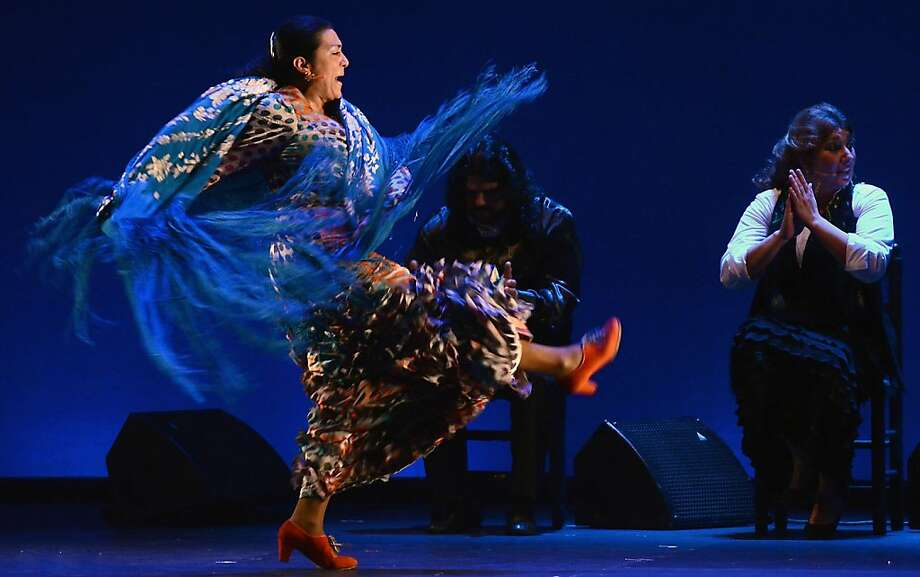 "Rosario Montoya Manzano, ""La Farruca,"" is the daughter of flamenco royalty and the mother of three talented young dancers. Photo: Esteban Abion, Bay Area Flamenco Festival"
