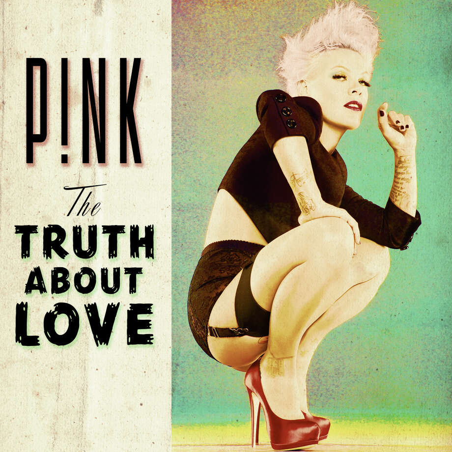 "Cover art for ""The Truth About Love"" from singer Pink. Photo: RCA"