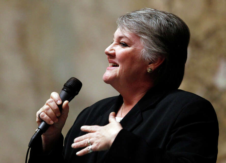 "State Sen. Maureen Walsh, R-Walla Walla, whose district includes the Washington State Penitentiary.  ""Quite simply, this seems to be flawed policy.""  Photo: Elaine Thompson / Associated Press"