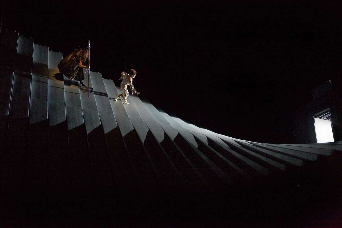 In this Sept. 11, 2010 photo provided by the Metropolitan Opera, a scene from Wagner's