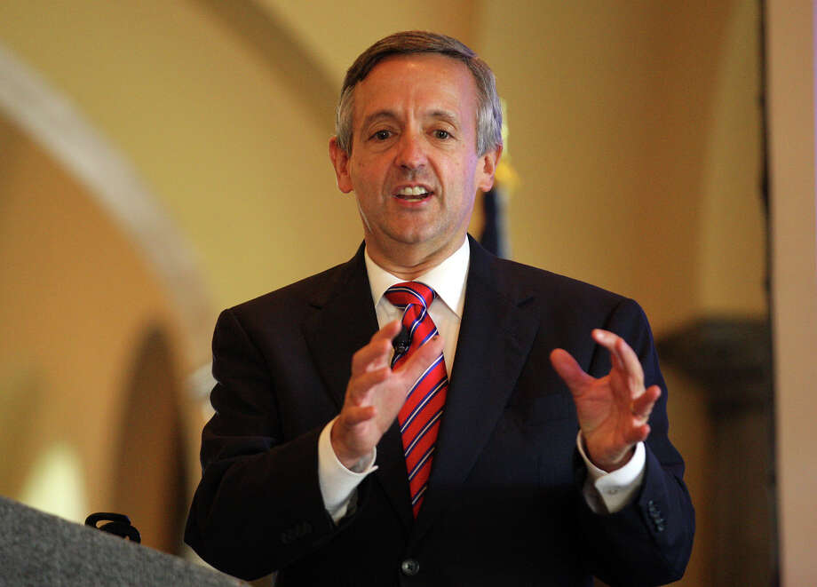 Robert Jeffress, Senior Pastor of First Baptist Church of Dallas, speaks during the 2012 Pastor Appreciation Luncheon at The Club of Sonterra, Monday, Sept. 17, 2012. Photo: Jerry Lara, San Antonio Express-News / © 2012 San Antonio Express-News