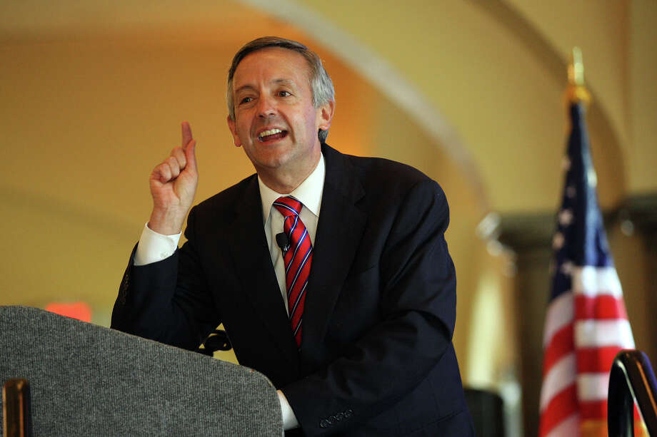 "First Baptist Dallas pastor Robert Jeffress took a weekend getaway to Iowa to ""not officially endorse"" Donald Trump. Photo: Jerry Lara, San Antonio Express-News / © 2012 San Antonio Express-News"