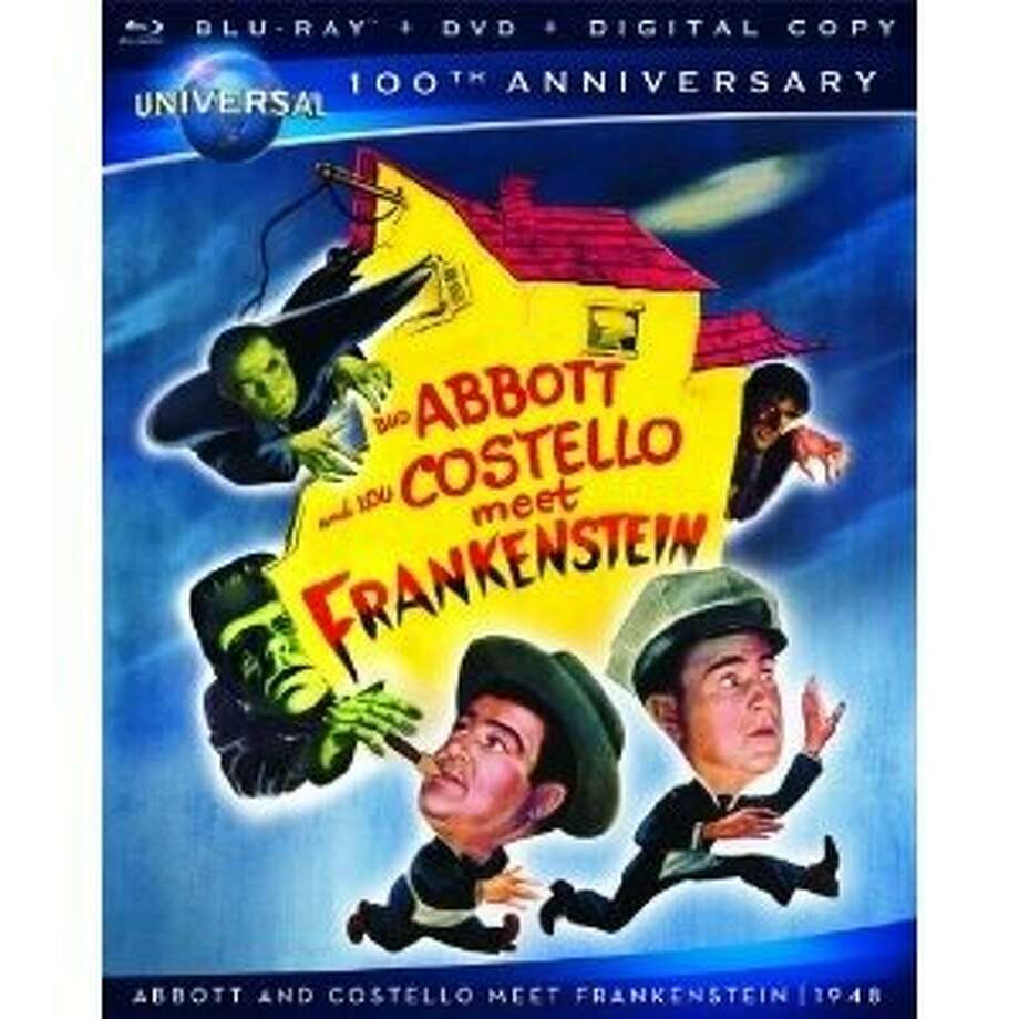 dvd cover ABBOTT & COSTELLO MEET FRANKENSTEIN Photo: Universal