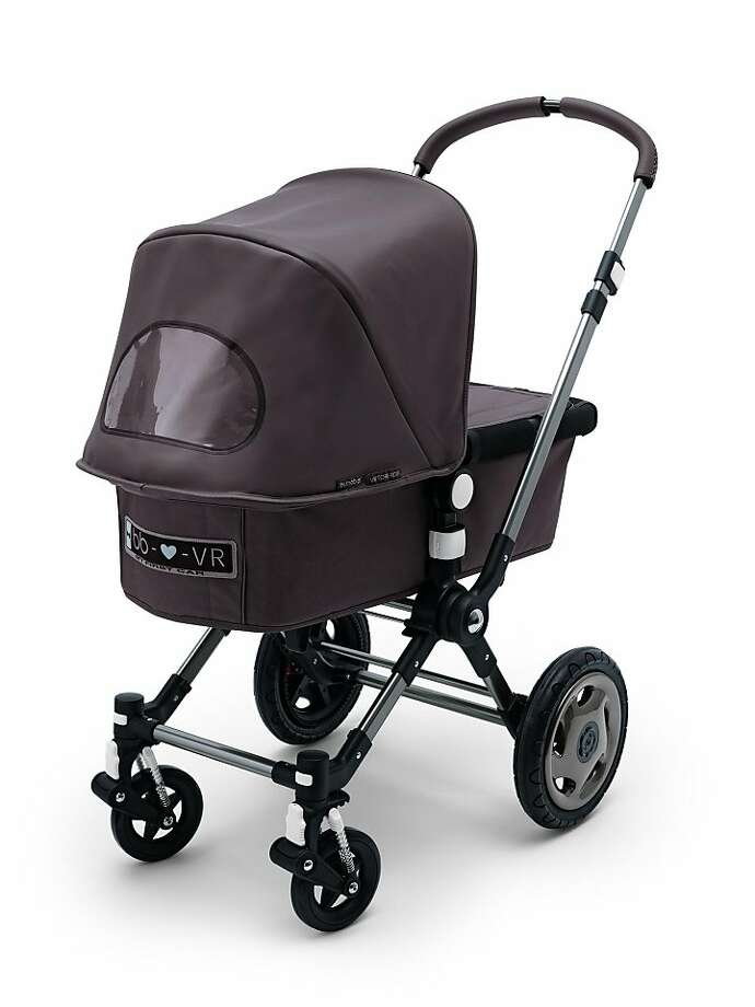 Fashion designers Viktor & Rolf collaborated with Bugaboo for this My First Car stroller ($1,600). Photo: Bugaboo