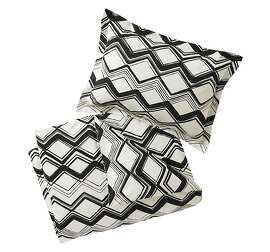 More: $310-$360: Painted Chevron Ink Duvet from Dwell Studio (shams included; dwellstudio.com)