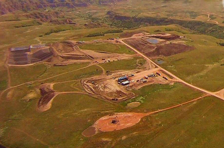 The photo shows R360 Environmental Solutions facility in the Williston Basin in North Dakota. R360 Environmental acquired the facility in June. The company, which provides oilfield waste management solutions, is being acquired by Houston-based Waste Connections. Photo: R360 Environmental Solutions