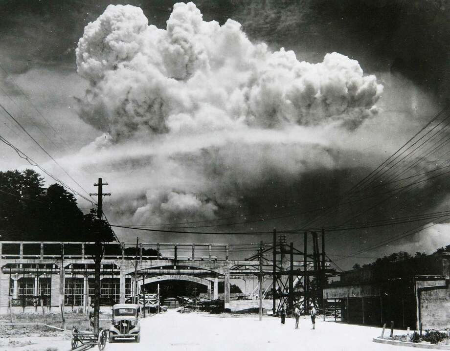 Three days after the Hiroshima bomb, another B-29, Bockscar, dropped an atomic bomb on Nagasaki, Japan. Japan surrendered soon after. Photo: Handout, Getty Images / 2005 Nagasaki Bomb Museum