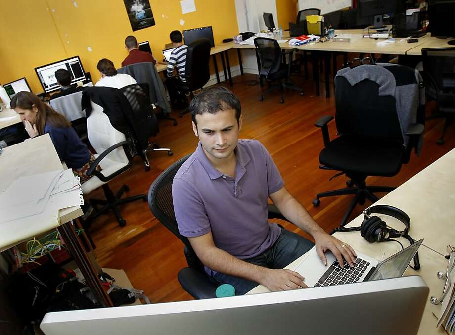 Eren Bali's quest for knowledge led him to found the online learning resource Udemy in San Francisco. Photo: Brant Ward, The Chronicle