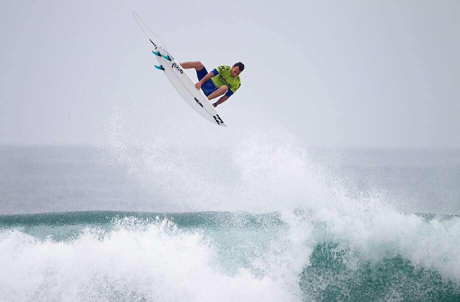 Joel Parkinson of Australia surfs during round two advancing into round three on September 17, 2012 in Lower Trestles, United States.  (Photo by Kirstin Scholtz/ASP via Getty Images) Photo: Kirstin Scholtz, Getty Images