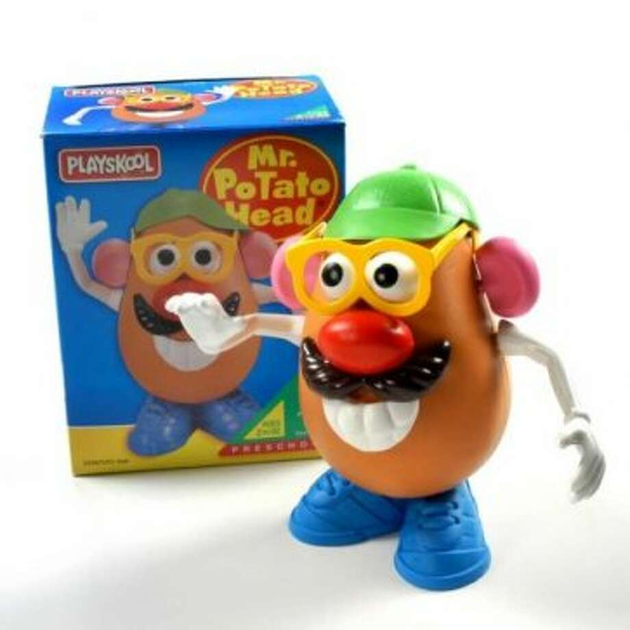 Mr. Potato Head: Created in 1949; produced by PLAYSKOOL for Hasbro Inc. (Screen grab )