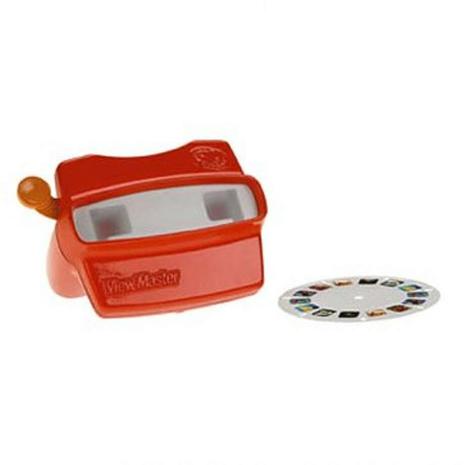 View-Master: Created in 1939; produced by Fisher-Price for Mattel Inc.  (Unspecified / Screen grab )