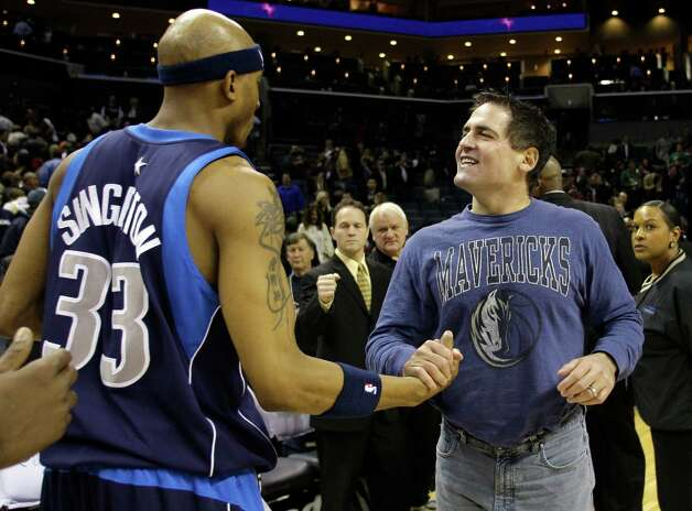 Mark Cuban, 54, is worth $2.3 billion, and he is best known for being the owner of the Dallas Mavericks. He isn't from Houston, but he is a NBA World Champion. Photo: Chuck Burton, AP / AP