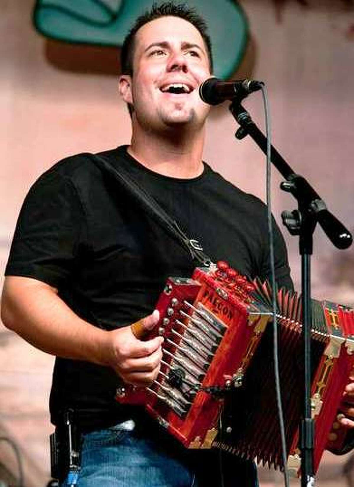 Kevin Naquin, leader of the Cajun dance band the Ossun Playboys