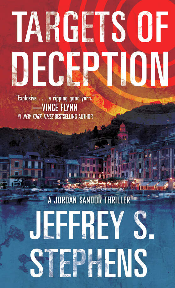"Greenwich lawyer-turned-novelist Jeffrey S. Stephens has launched a new espionage thriller series with ""Targets of Deception"" featuring CIA agent Jordan Sandor. The book is being published Tuesday, Sept. 25. Photo: Contributed Photo"