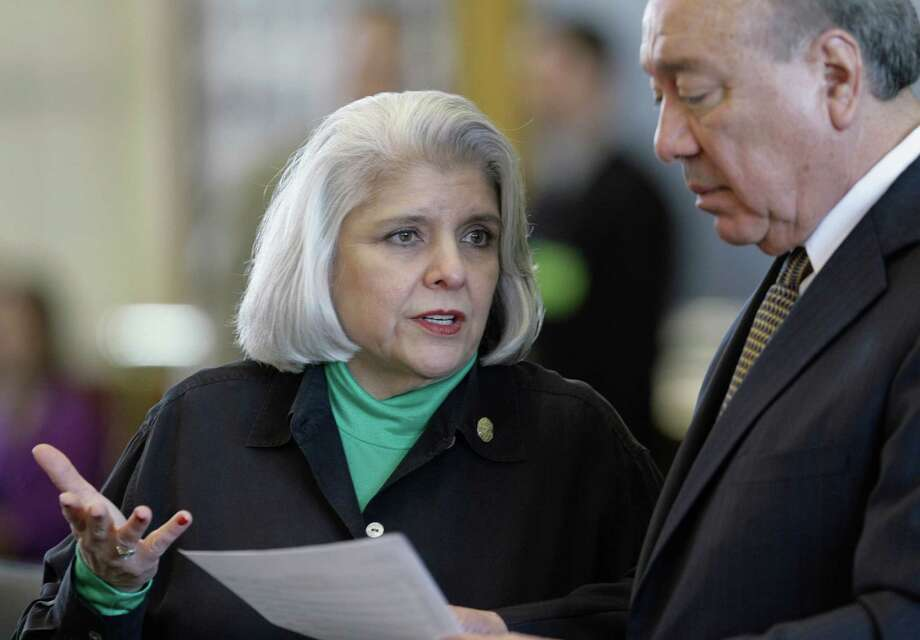 Sen. Judith Zaffirini, D-Laredo, has filed legislation to allow state colleges and universities to issue much-needed tuition revenue bonds. Photo: Harry Cabluck, Associated Press / AP2009