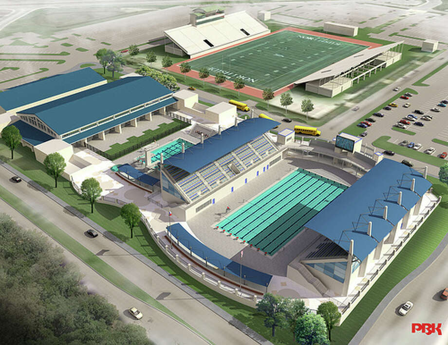 The Northside Swim Center, in partnership with San Antonio Sports, will be the site of the 2015 U.S. Masters Swimming National Short Course Championship. The center is currently under construction and slated to be finished by next spring. Photo: Northside ISD / Courtesy Illustr