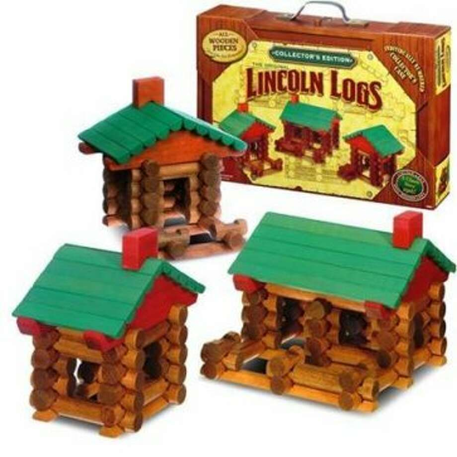 Lincoln Logs: Created in 1916; produced by K'NEX for Hasbro Inc. (Screen grab )