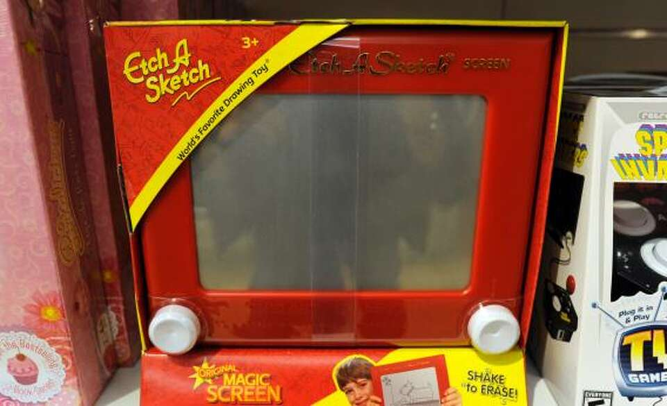 Etch A Sketch: Created in the late 1950's; produced Ohio Art Co. (Screen grab )